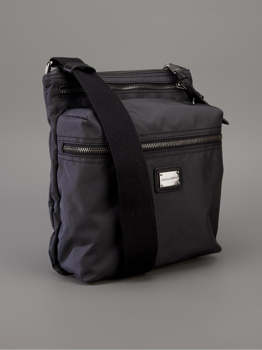 a2deb7087db9 Lyst - Dolce   Gabbana Shoulder Bag in Gray for Men