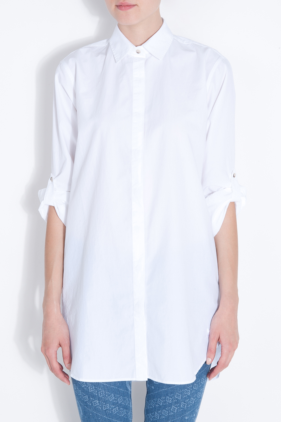 M.i.h jeans Oversize White Shirt in White | Lyst
