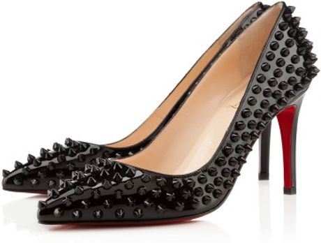 Christian Louboutin Pigalle Spikes in Black