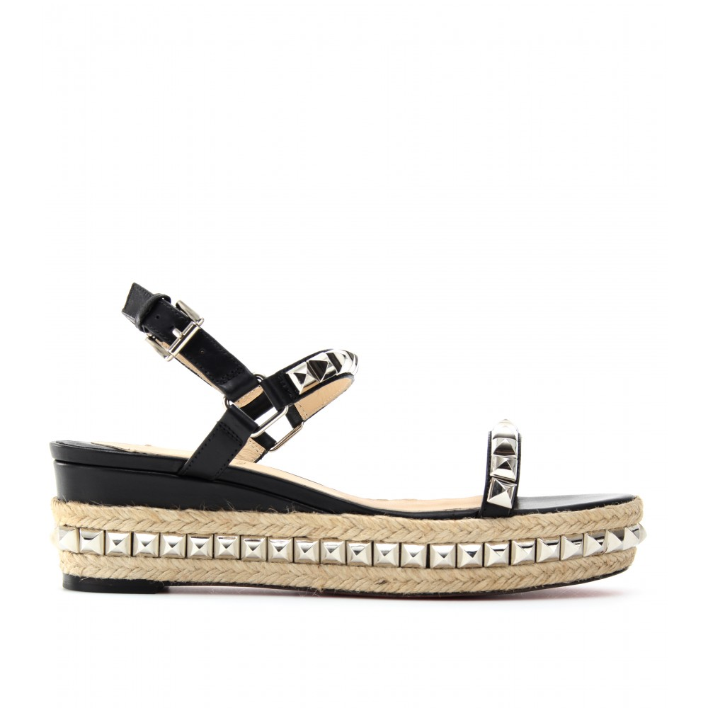 the best attitude 3ec39 29432 Shoeniverse: CHRISTIAN LOUBOUTIN Silver Cataclou 60 Studded ...