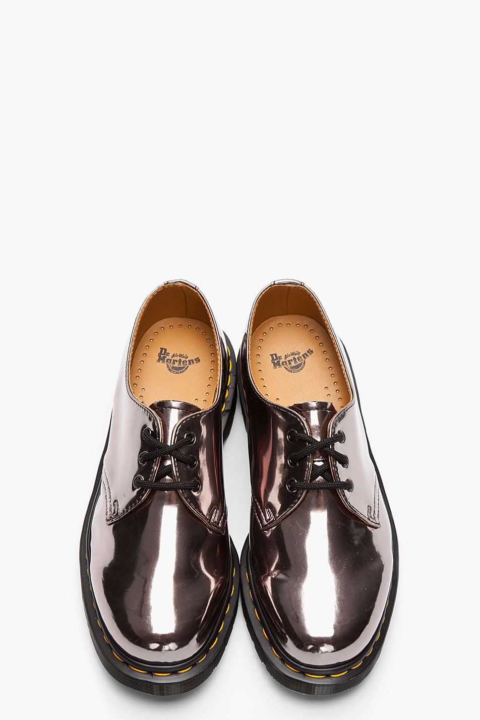 Ecco Metallic Lace Up Shoes