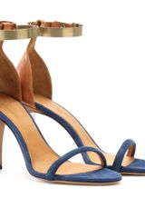 Isabel Marant Adele Leather and Suede Sandals