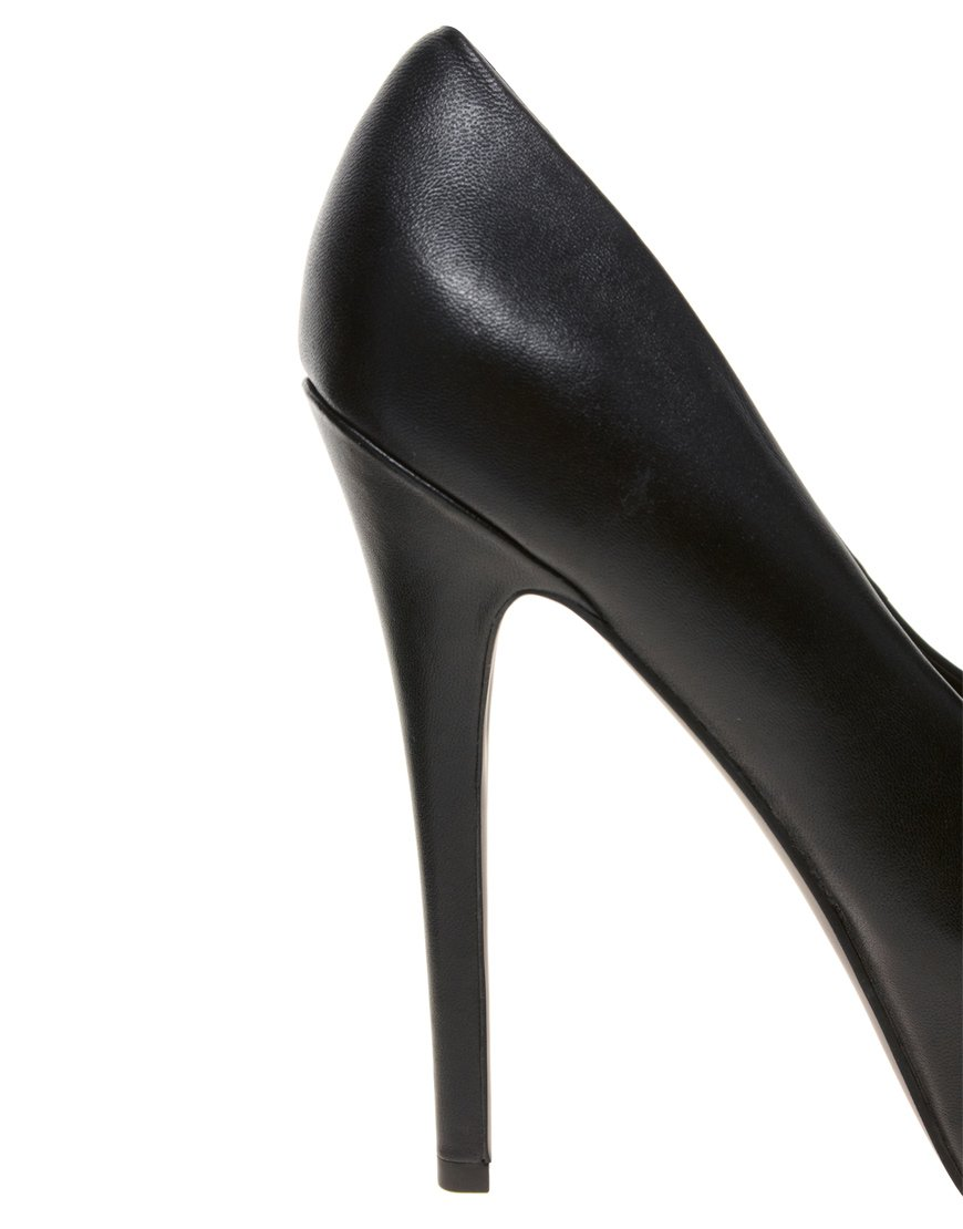 543cd14e8c6 Lyst - Steve Madden Dejavu Platform Court Shoes in Black
