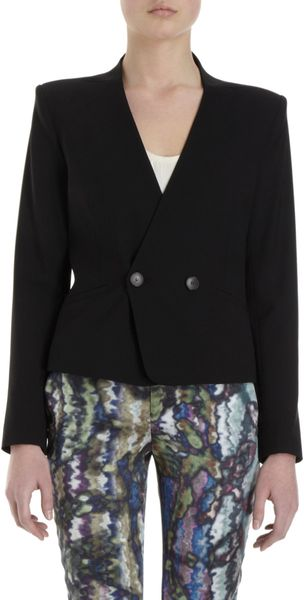 Theyskens' Theory Justed Blazer - Lyst