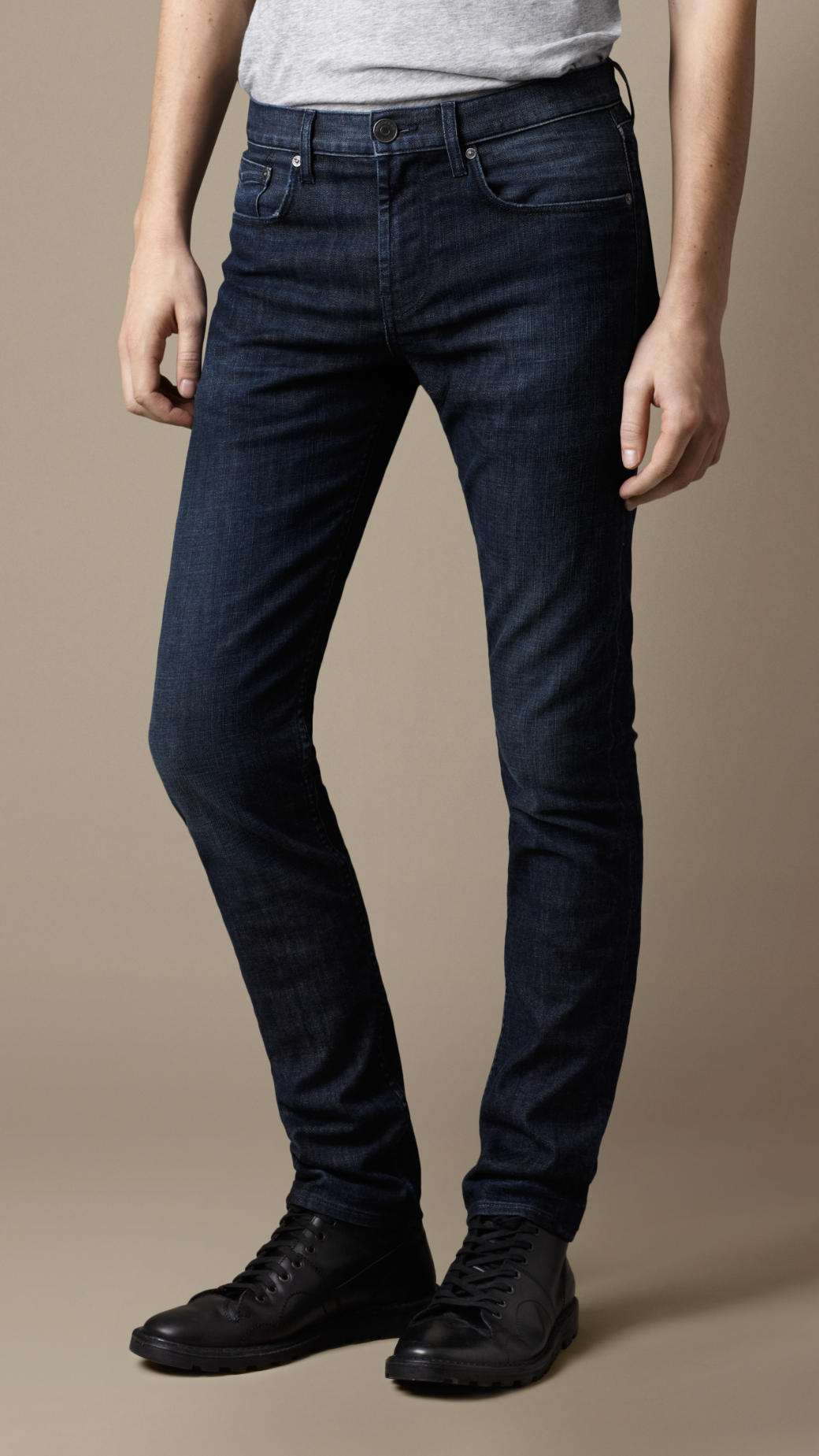 Burberry Shoreditch Indigo Stretch Skinny Fit Jeans in Blue for ...