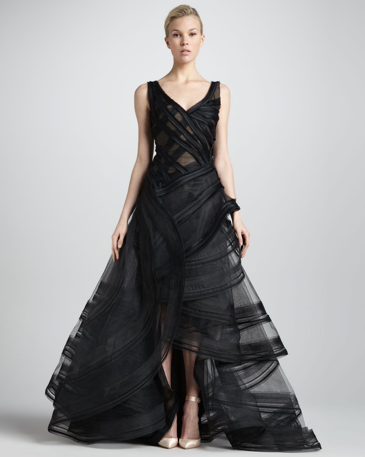 Black dress neiman marcus - Gallery Previously Sold At Neiman Marcus Women S Tiered Dresses