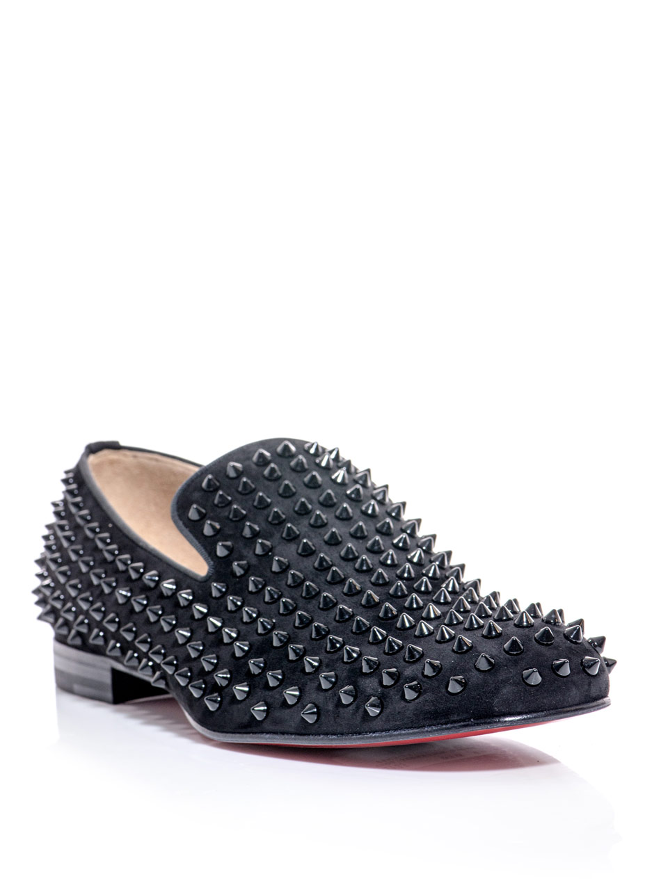 christian louboutin men black - Bavilon Salon