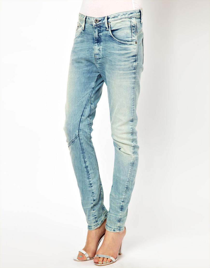 87f5b1a373b G-Star RAW Gstar Arc 3d Tapered Skinny Jeans in Blue - Lyst