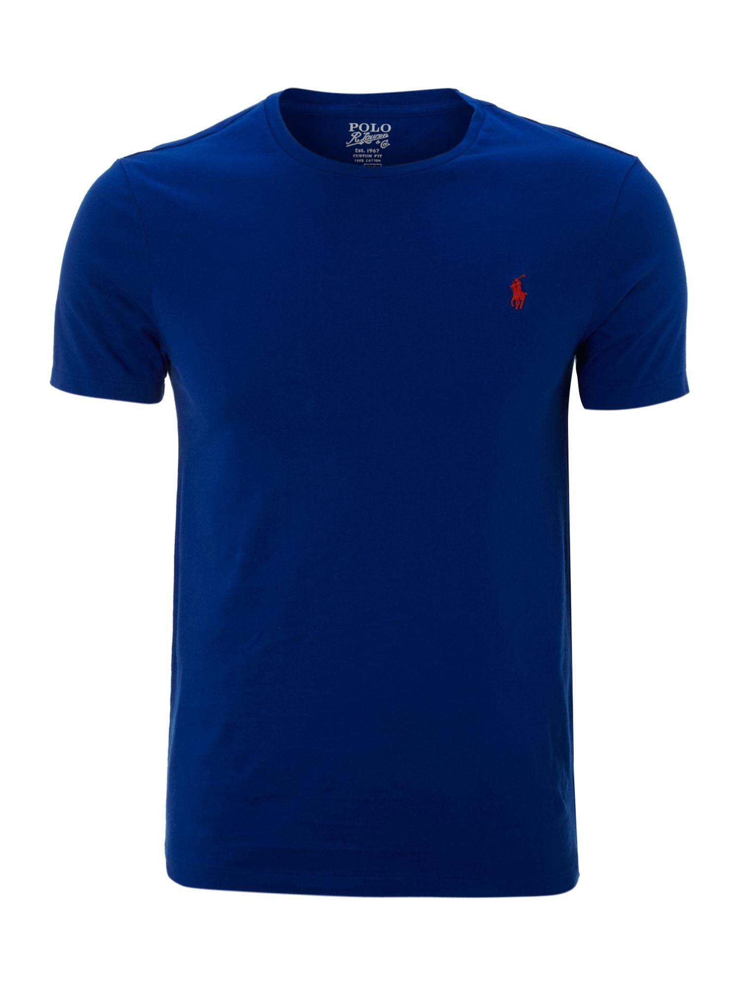 Polo Ralph Lauren Vintage Printed Crew Neck T Shirt In