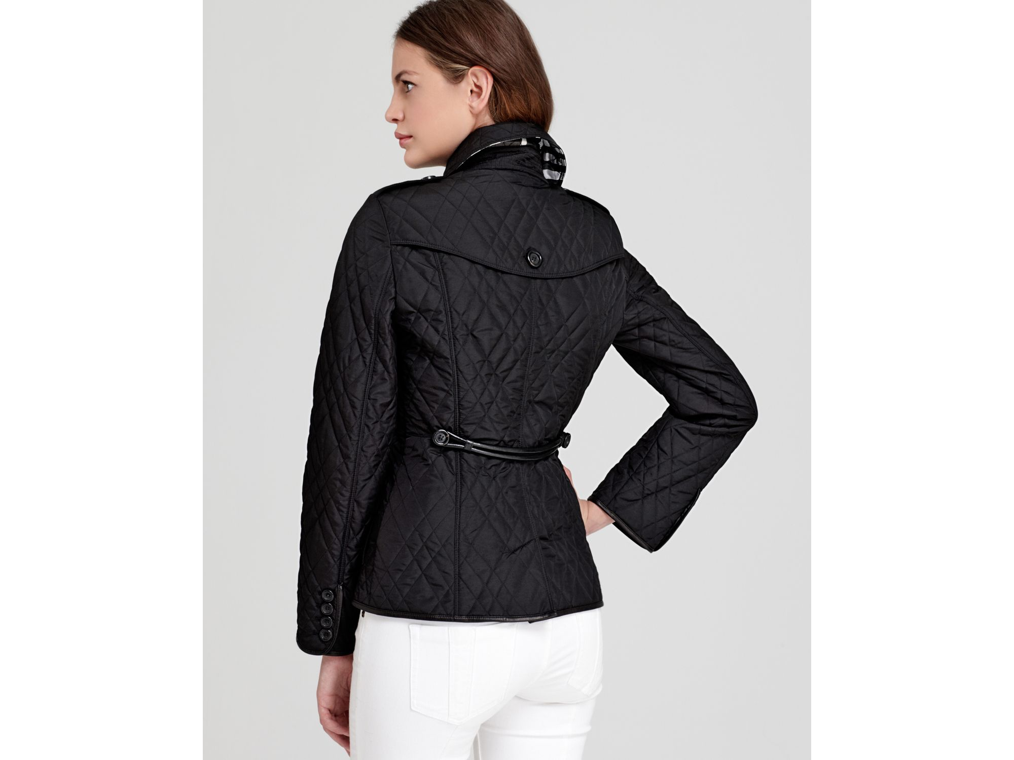 ccb1e72f3542 Lyst - Burberry London Jacket Enderwoodlt Quilted in Black