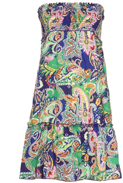Ralph Lauren Swim Smock Dress in Multicolor (black)