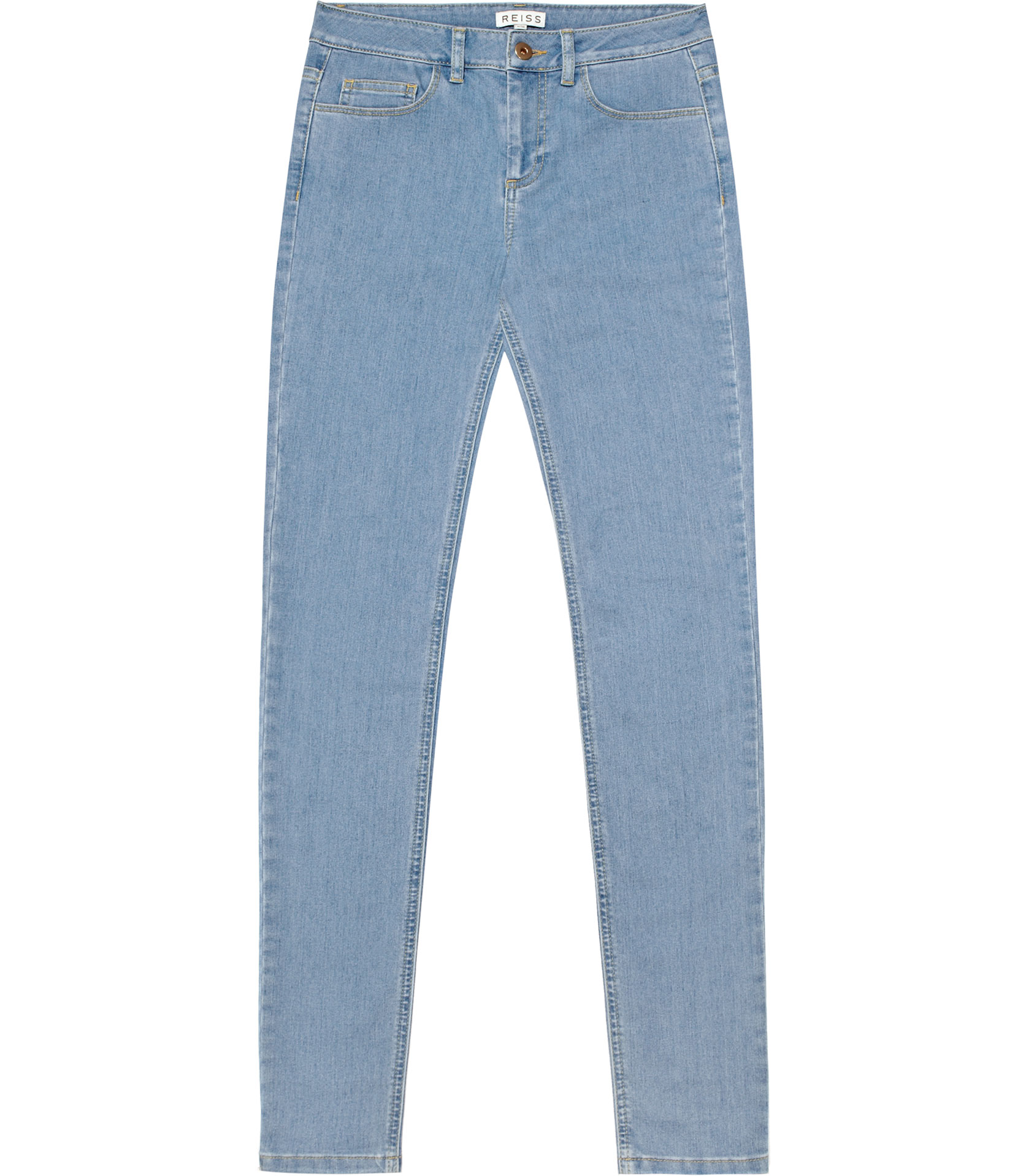 Reiss Smith Denim Skinny Jeans in Blue | Lyst