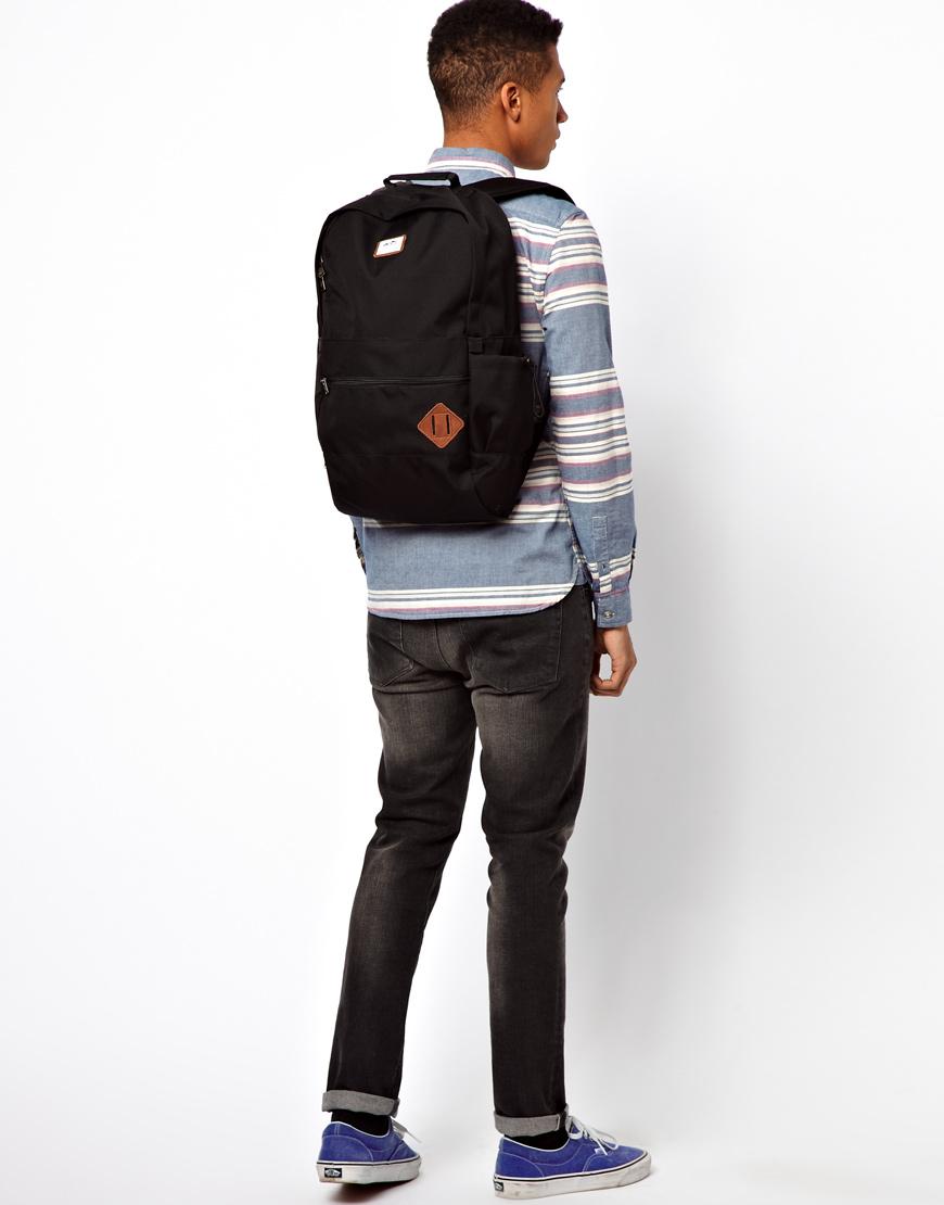 dc845301e6 Vans Van Doren Ii Backpack in Black for Men - Lyst