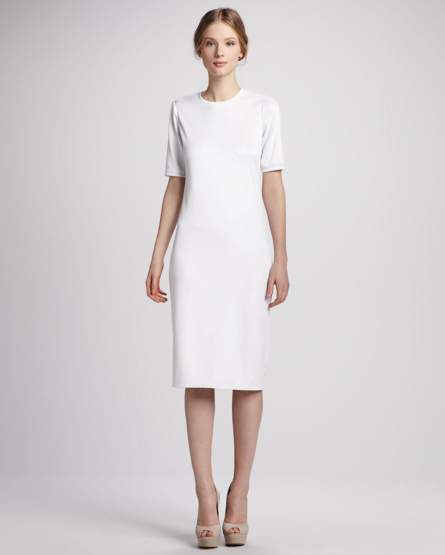 White Knit Dress   Dress images