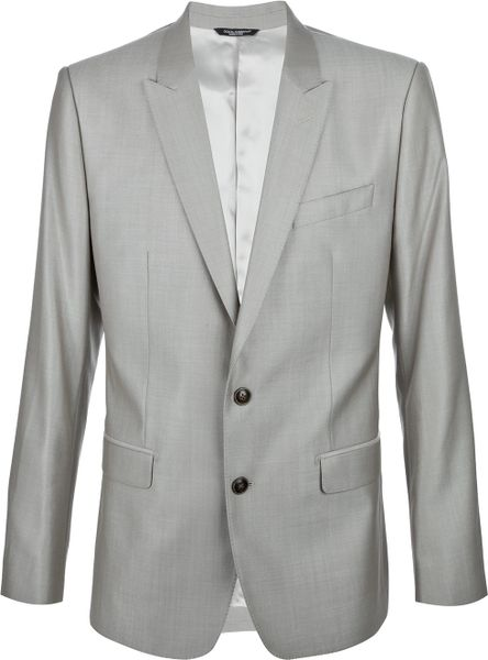 Dolce & Gabbana Martini Suit in Gray for Men (beige)