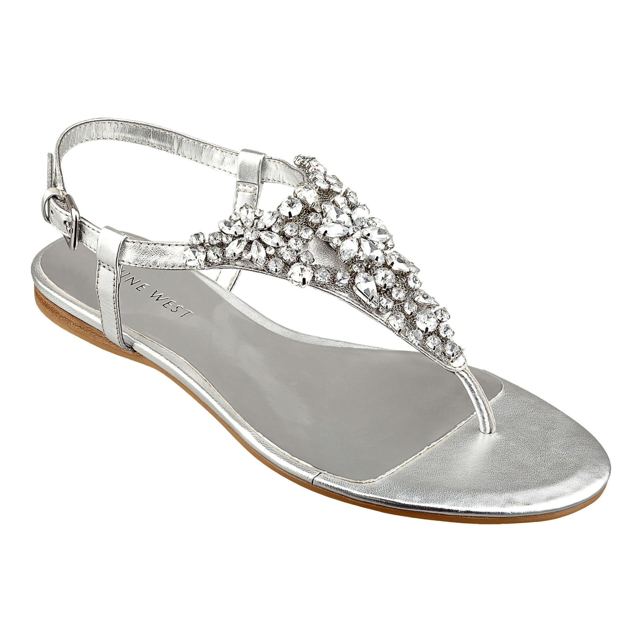 336304a6a Lyst - Nine West Seahorse in Metallic