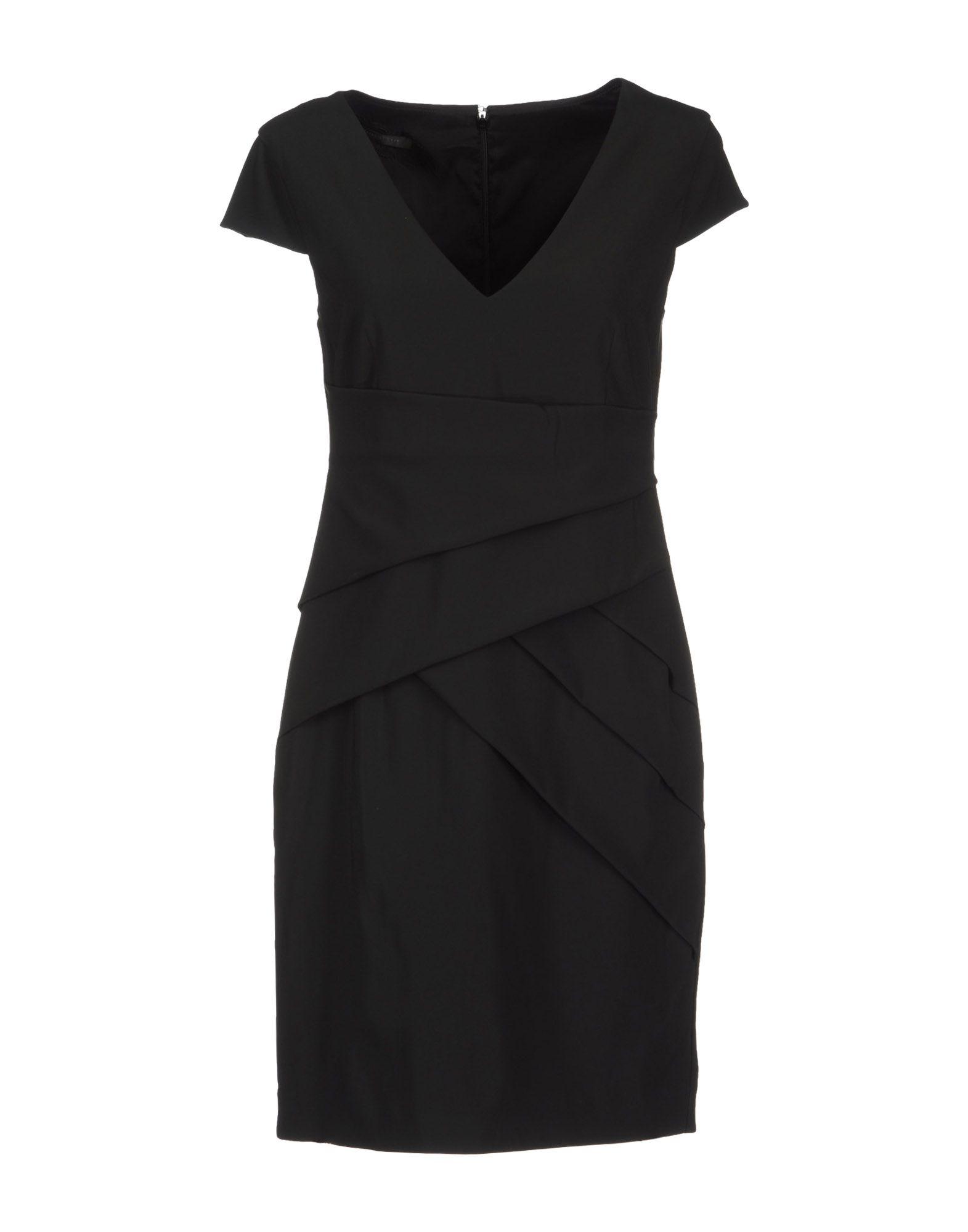 patrizia pepe short dresses in black lyst. Black Bedroom Furniture Sets. Home Design Ideas