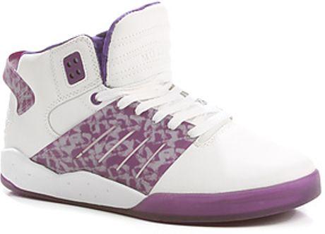 Lil wayne shoes supra purple