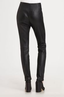 Acne Best Five-Pocket Leather Pants - Lyst