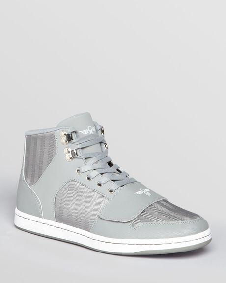 Creative Recreation Cesario Herringbone High Top Sneakers