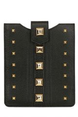 Gedebe Studded Leather Ipad Case