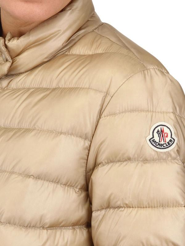 moncler beige jacket mens