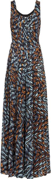 Reiss Effie Printed Maxi Dress in Multicolor (multi)