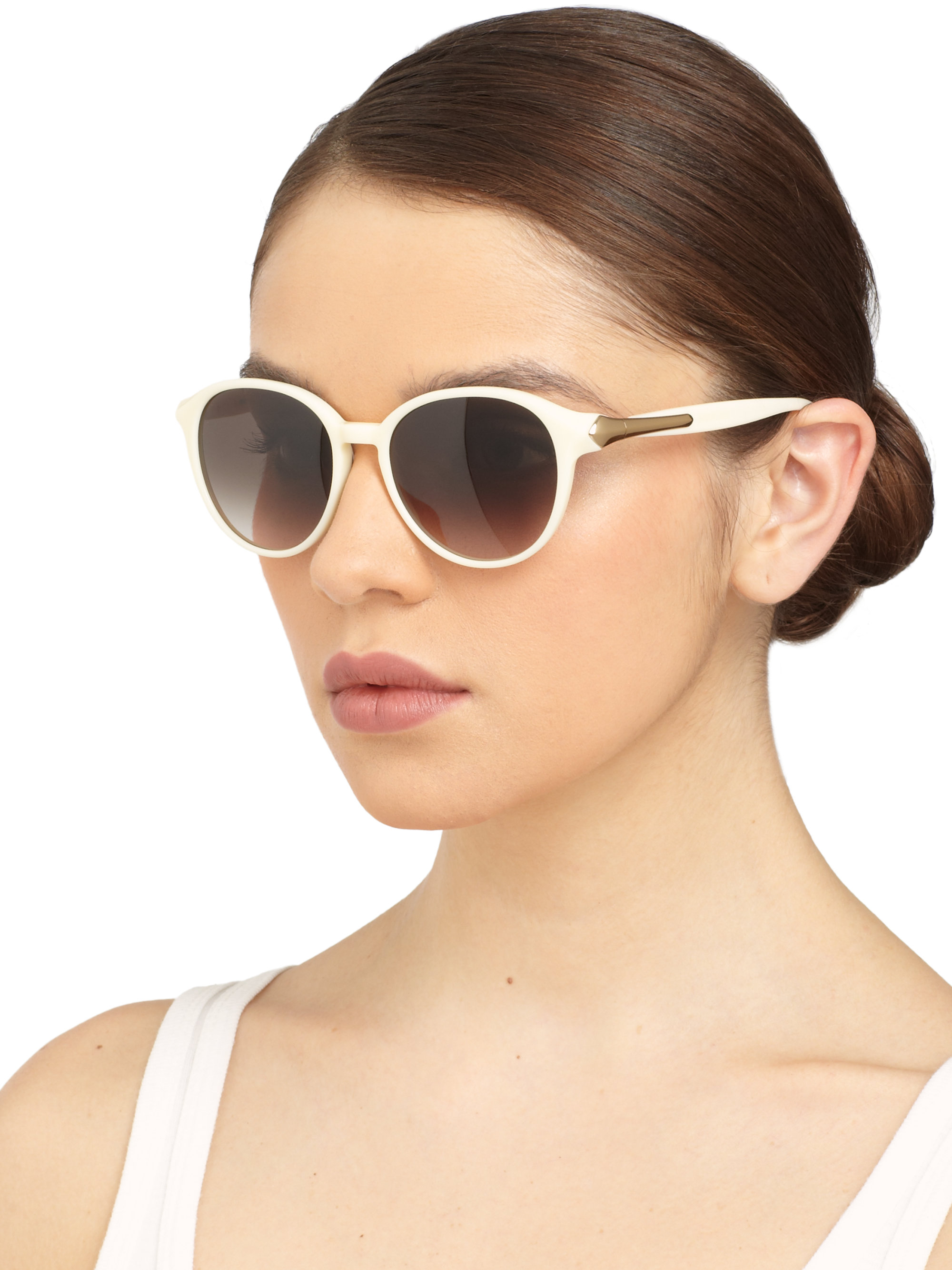 5de60d3625 Gallery. Previously sold at  Saks Fifth Avenue · Women s Acetate Sunglasses  ...