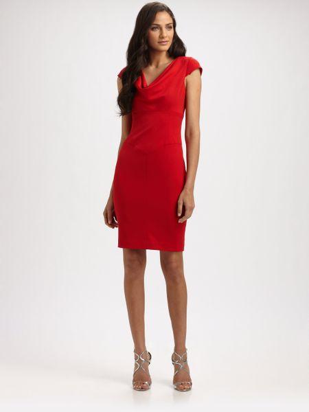 Black Halo Gretchen Dress In Red Lyst