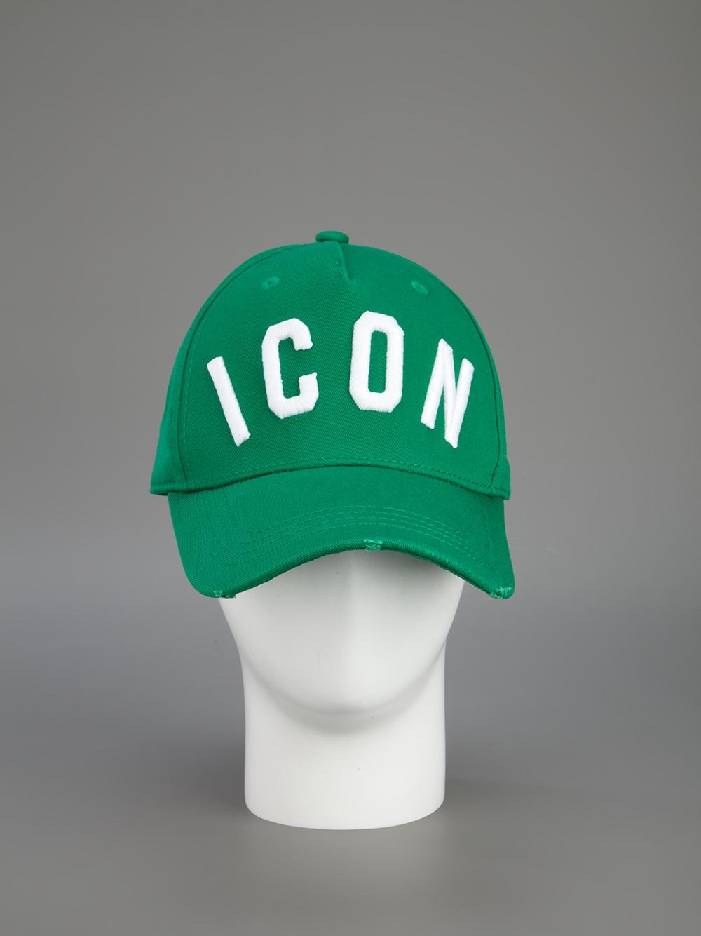 Icon beanie - Green Dsquared2 qWyEwHsqV8