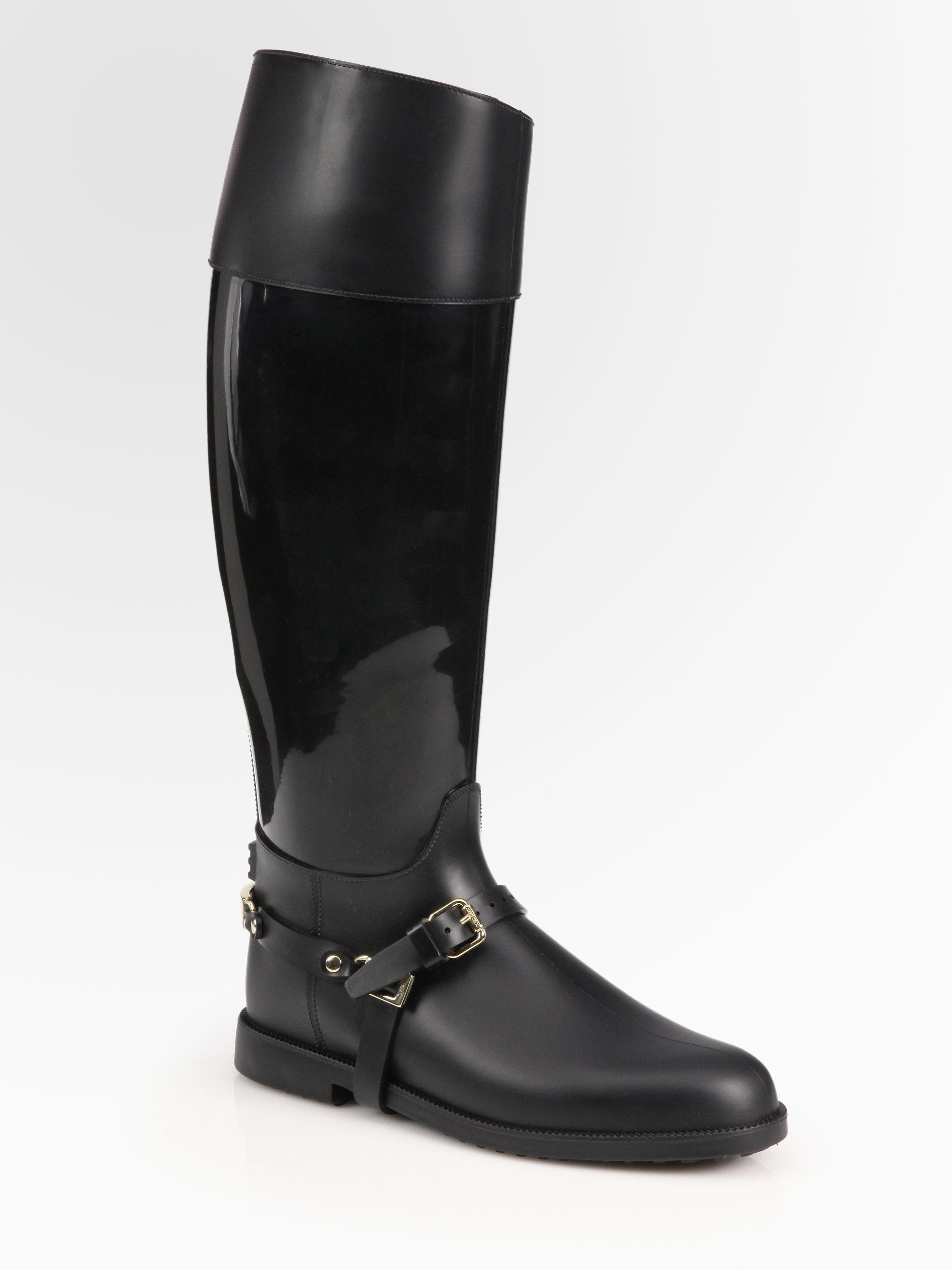 56525a68d34 Hunter Jimmy Choo Rain Boots Saks