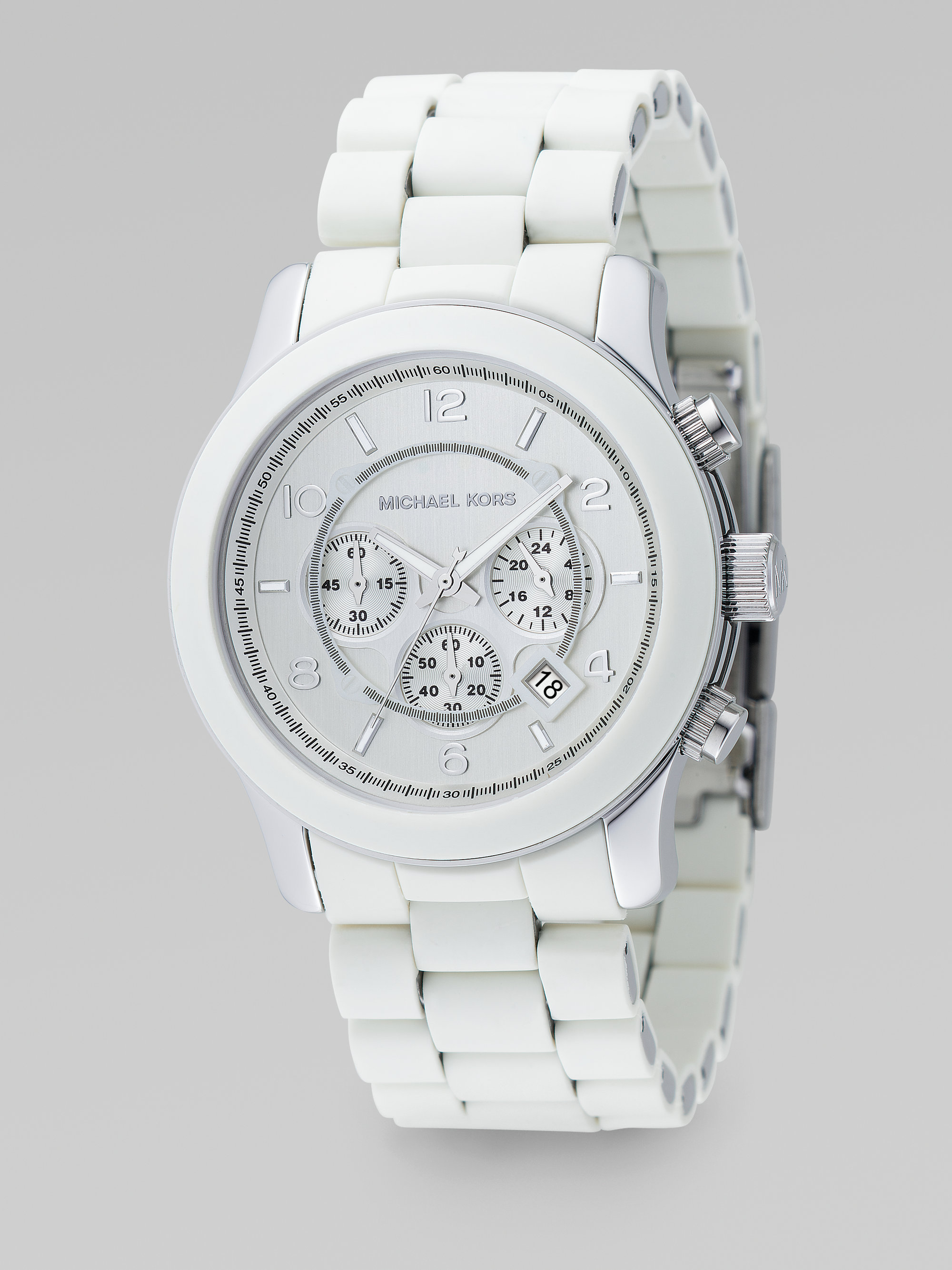 bf4788815da6 Gallery. Previously sold at  Saks Fifth Avenue · Men s Michael Kors  Chronograph
