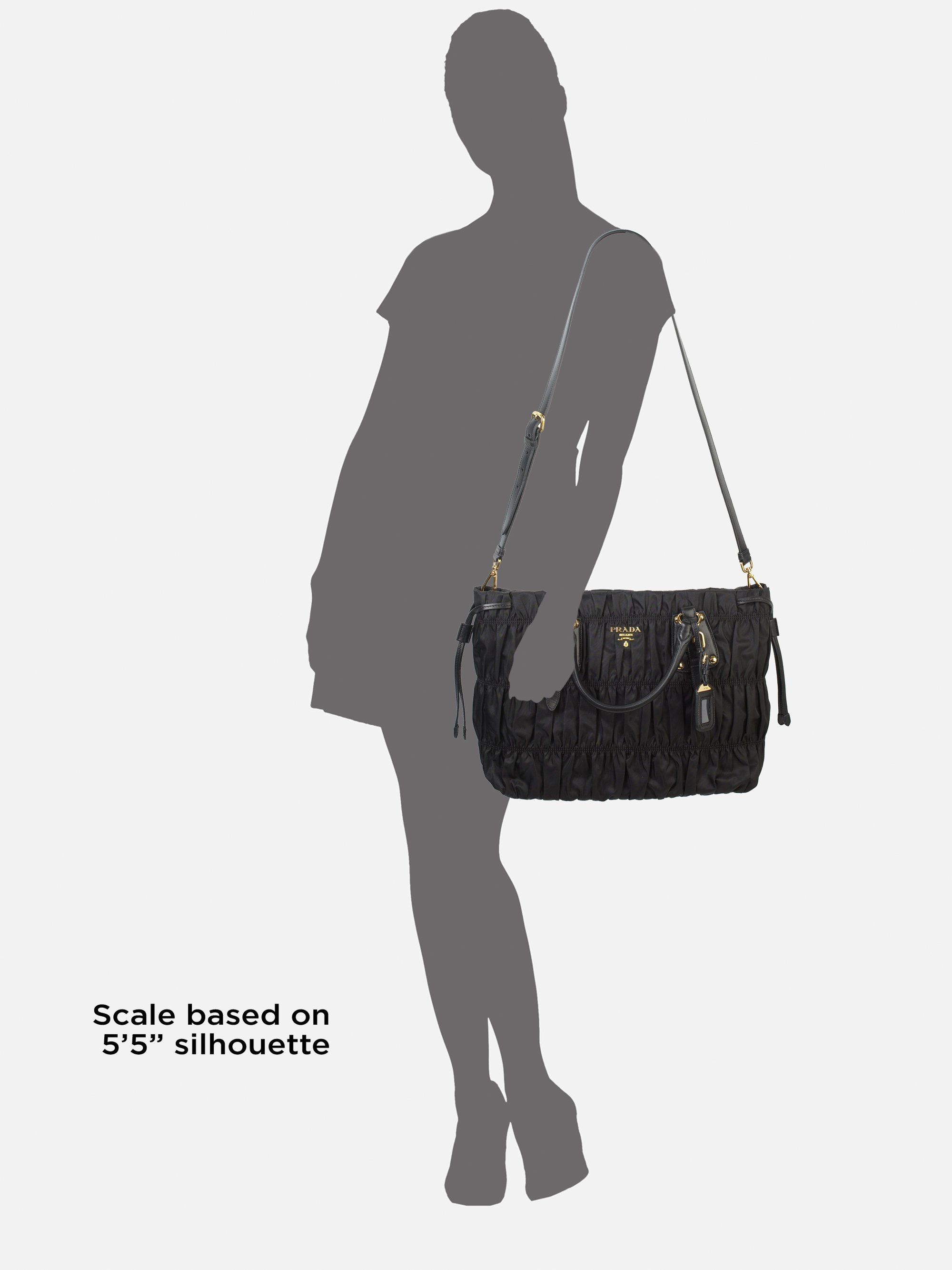 34c968f8b977 ... get good lyst prada tessuto gaufre tote bag in black 8d3e9 bb80c 914de  fe1e9