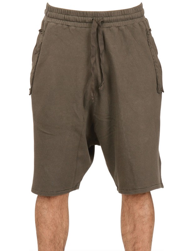 Silent - damir doma Washed Cotton Sweat Shorts in Natural for Men ...