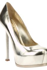 Yves Saint Laurent Metallic Pump