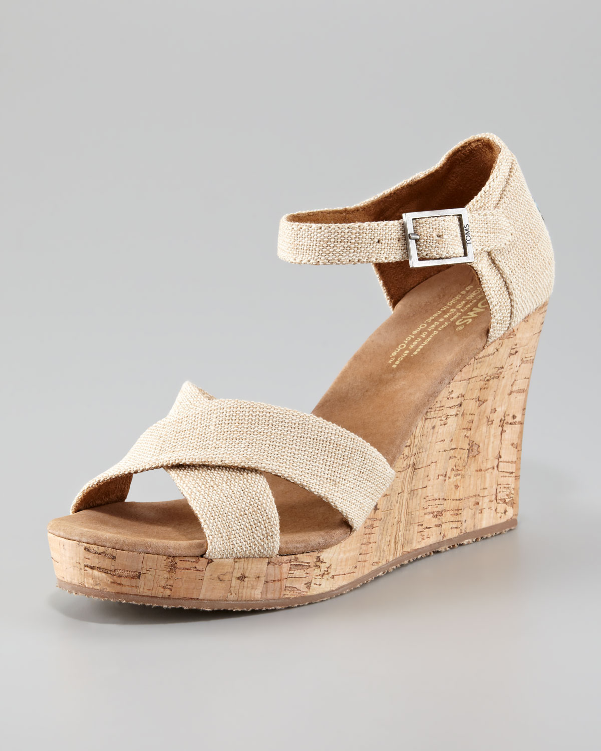 Wide Width Wedge Sandals. No need to teeter and totter on heels! Wedge this way instead! Get the extra inches you want from a supportive design with our wide width wedges! Looking for the perfect shoes to match your new cute cocktail dress? Strap on a pink mini wedge for a walk along the boardwalk or a black beaded wedge for an elegant evening.