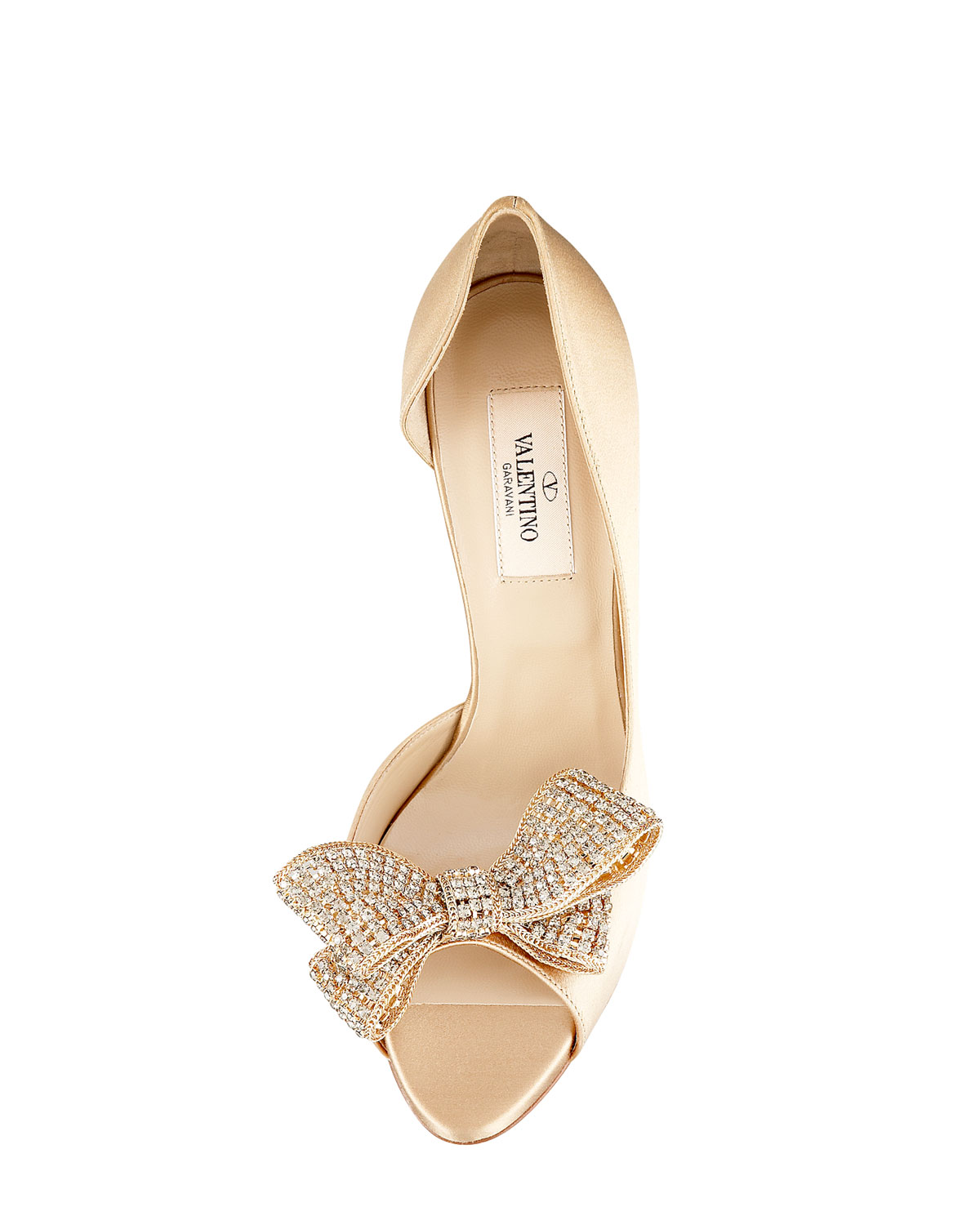 80b8a9457af84 Valentino Jewelry-bow Couture d'Orsay in Black - Lyst