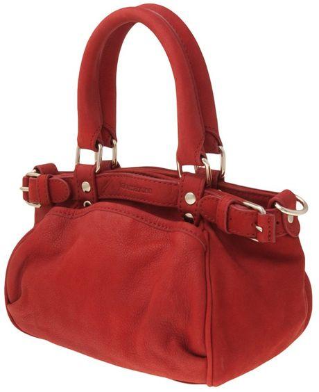vanessa bruno mini sac bag in red vermillion lyst. Black Bedroom Furniture Sets. Home Design Ideas