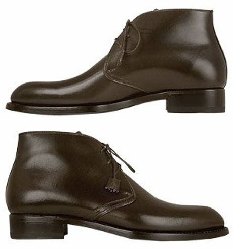 forzieri handcrafted brown leather dress ankle boots