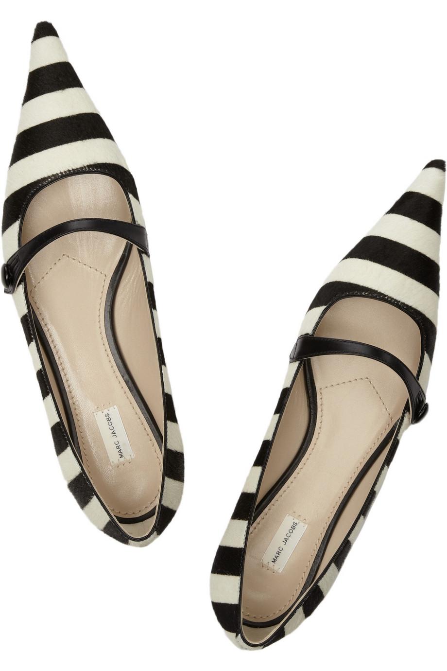 CHANEL: Black/White Stripe &