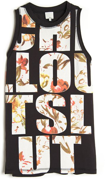 3.1 Phillip Lim Chill Out Slut Tank in Floral