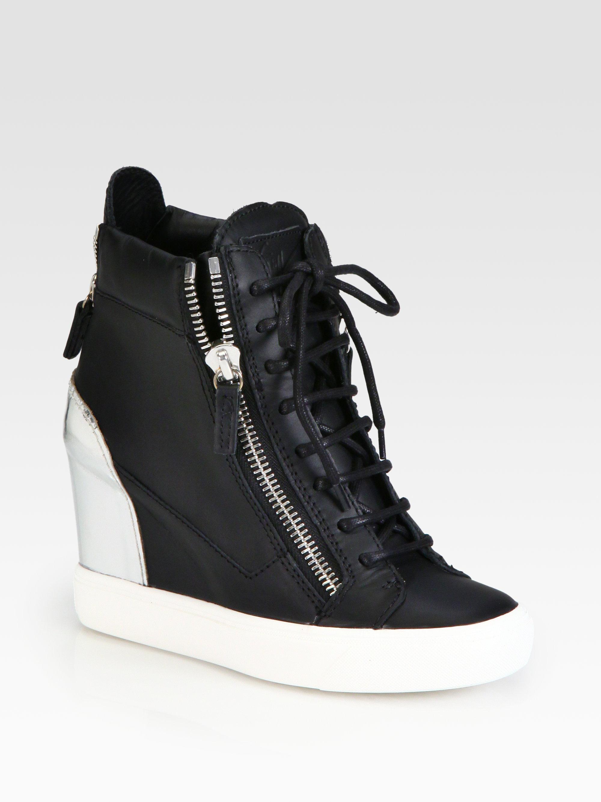 Giuseppe zanotti sneakers low cut cuir et snakeskin for Zanotti arredamenti