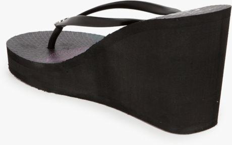 bbbff75bbdb2 Black Wedge Sandals  Aldo Black Wedge Flip Flops