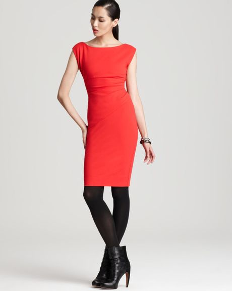 Dvf Red Dress Diane Von Furstenberg Dress