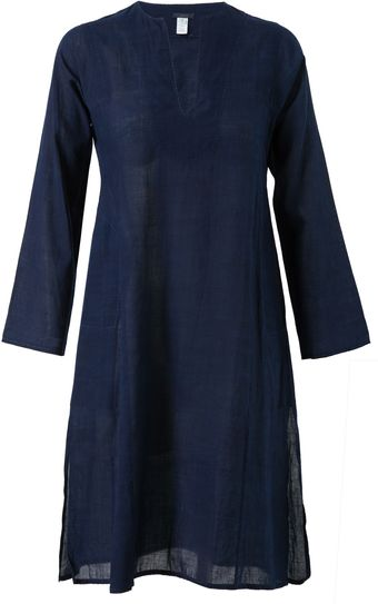 Dosa Cotton Tunic Dress - Lyst