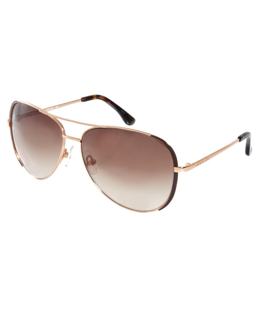 e10fce2b6d Michael Kors Rose Gold Aviator Sunglasses Uk