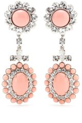 Miu Miu Clipon Drop Earrings