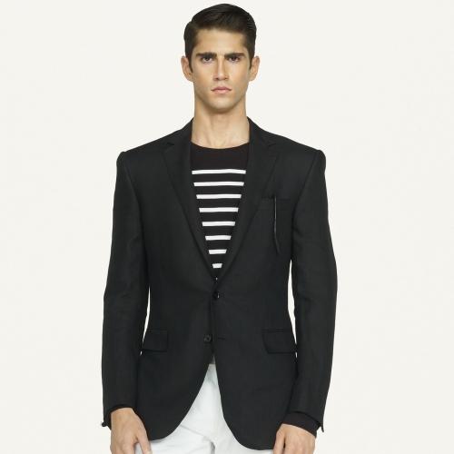 e4361cc7da90 Ralph Lauren Black Label Anthony Linen Sport Coat in Black for Men ...