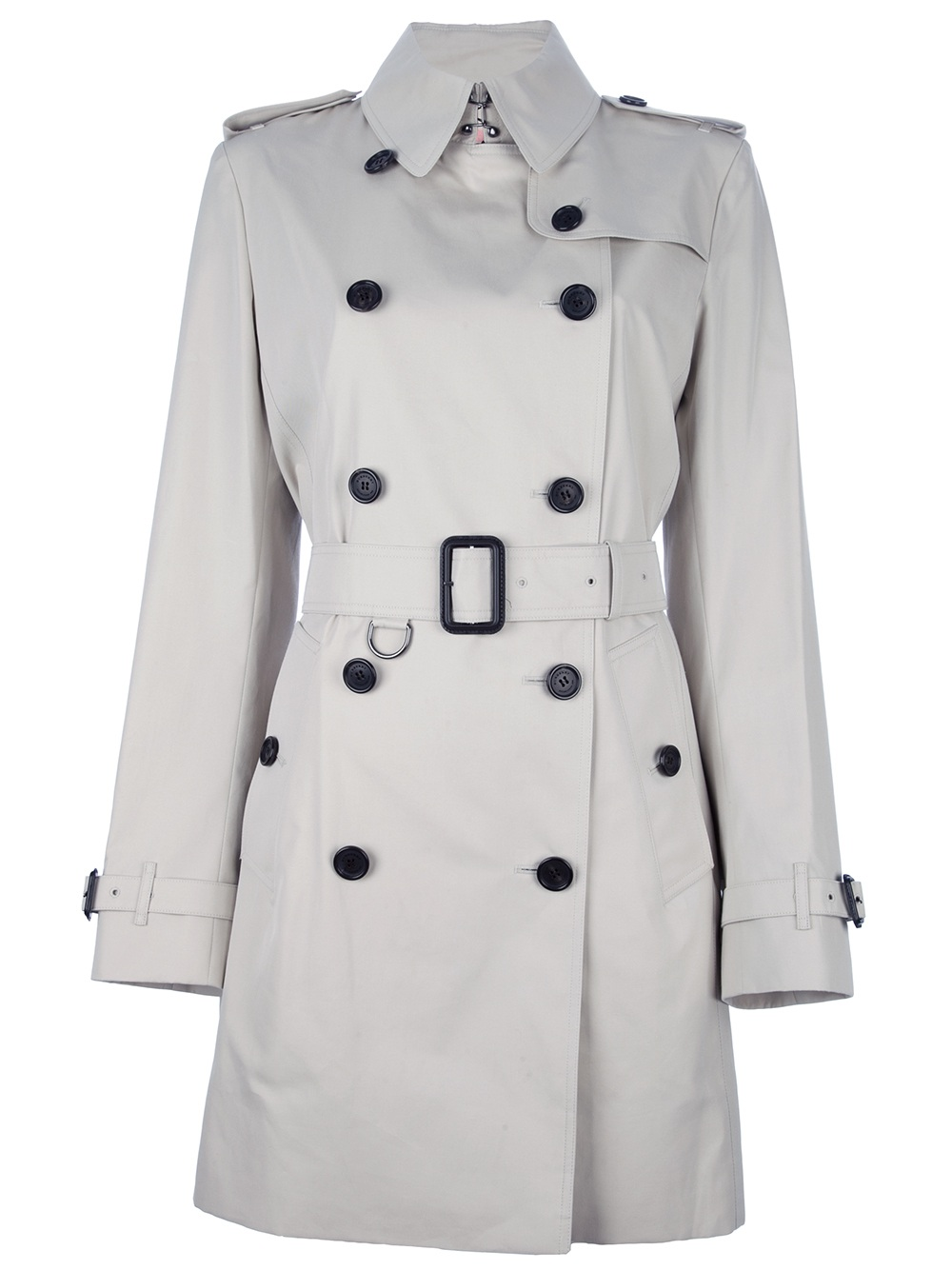 Burberry Classic Trench Coat in Black