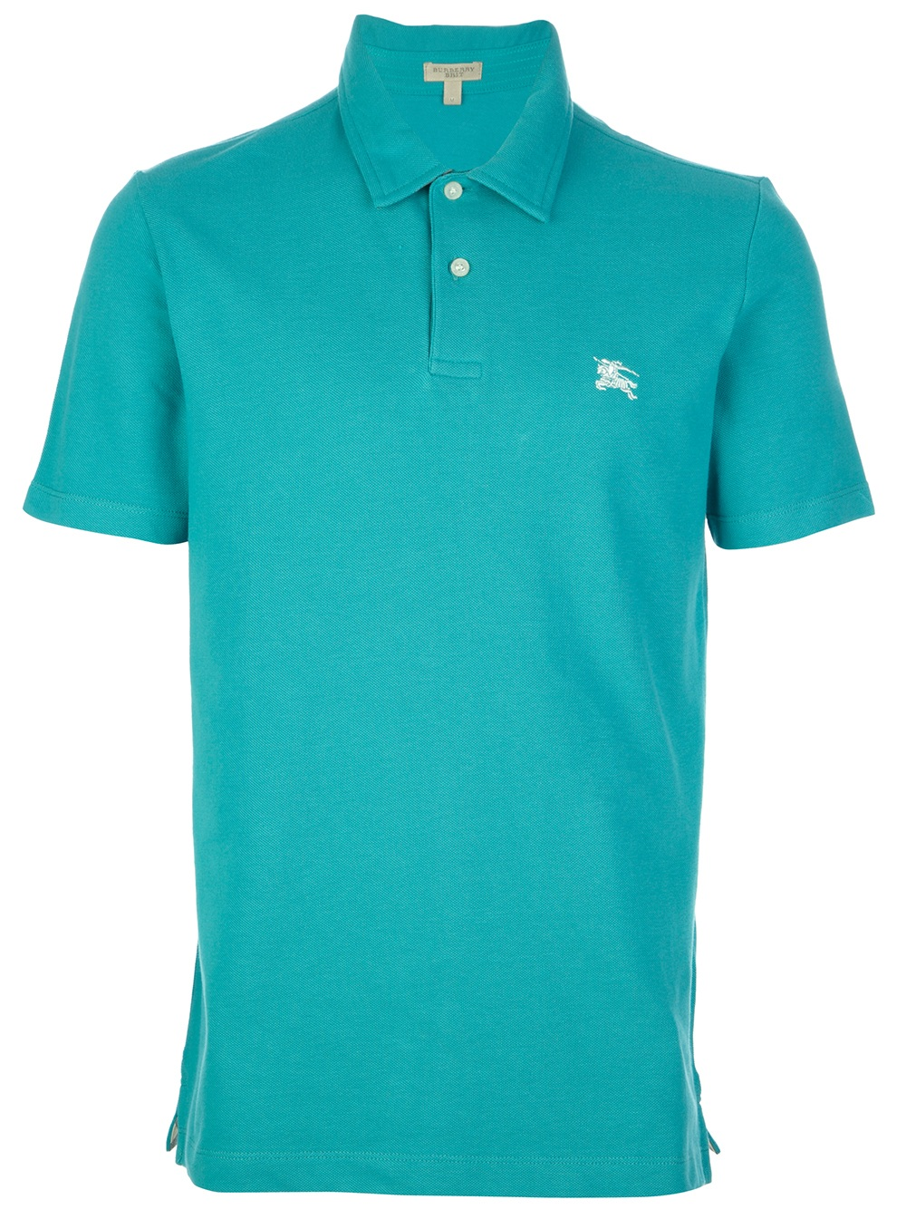 Burberry Brit Classic Polo Shirt In Blue For Men